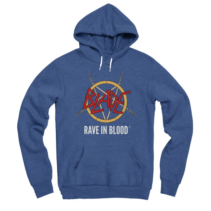 Rave in Blood Men's Pullover Hoody by ABELACLE.