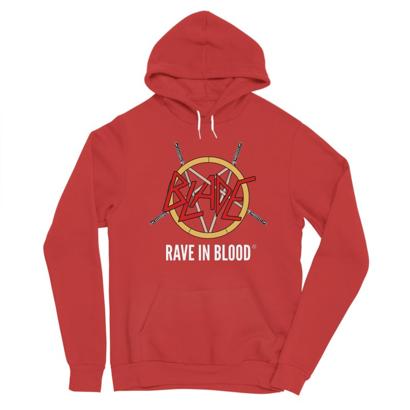 Rave in Blood Women's Pullover Hoody by ABELACLE.