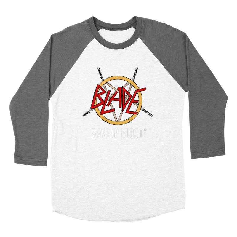 Rave in Blood Women's Longsleeve T-Shirt by ABELACLE.