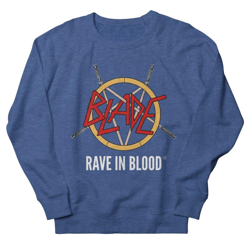 Rave in Blood Men's Sweatshirt by ABELACLE.