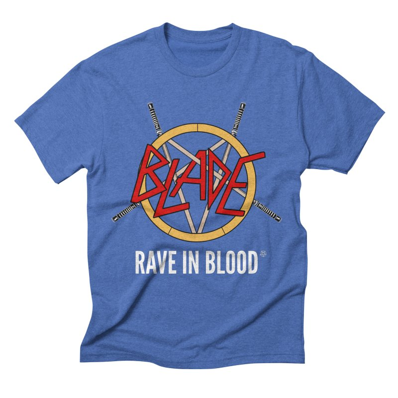 Rave in Blood Men's T-Shirt by ABELACLE.
