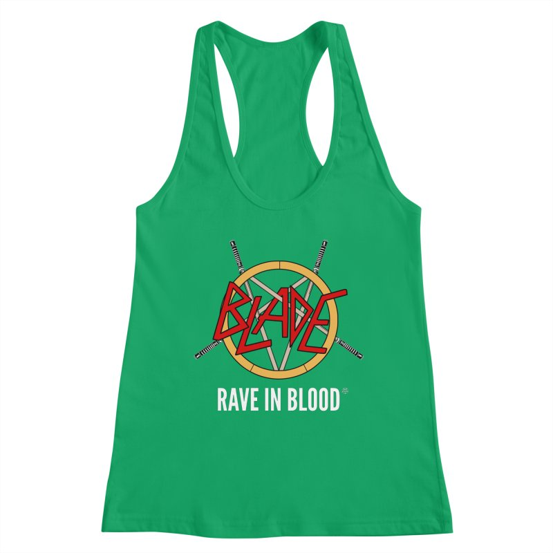 Rave in Blood Women's Tank by ABELACLE.