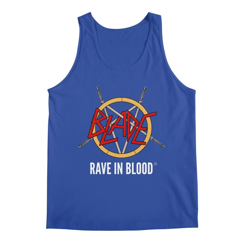 Rave in Blood Men's Tank by ABELACLE.