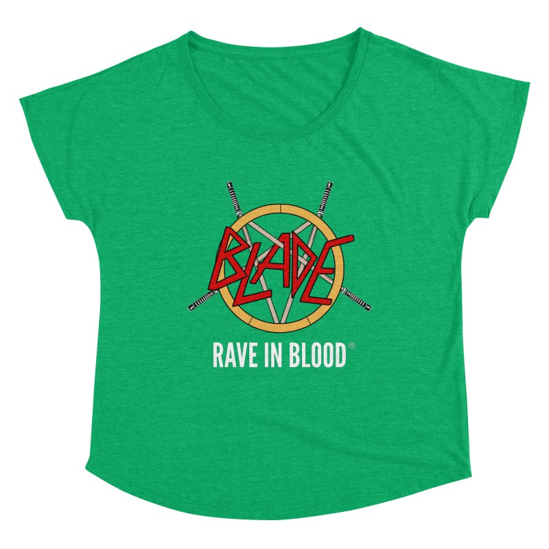 Rave in Blood Women's Scoop Neck by ABELACLE.