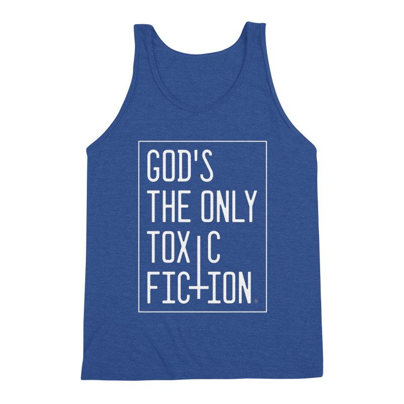 God's the Only Toxic Fiction Men's Tank by ABELACLE.
