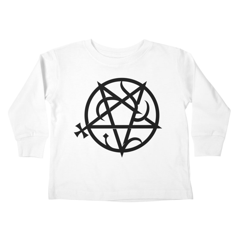 Abelacle (alt.) Kids Toddler Longsleeve T-Shirt by ABELACLE