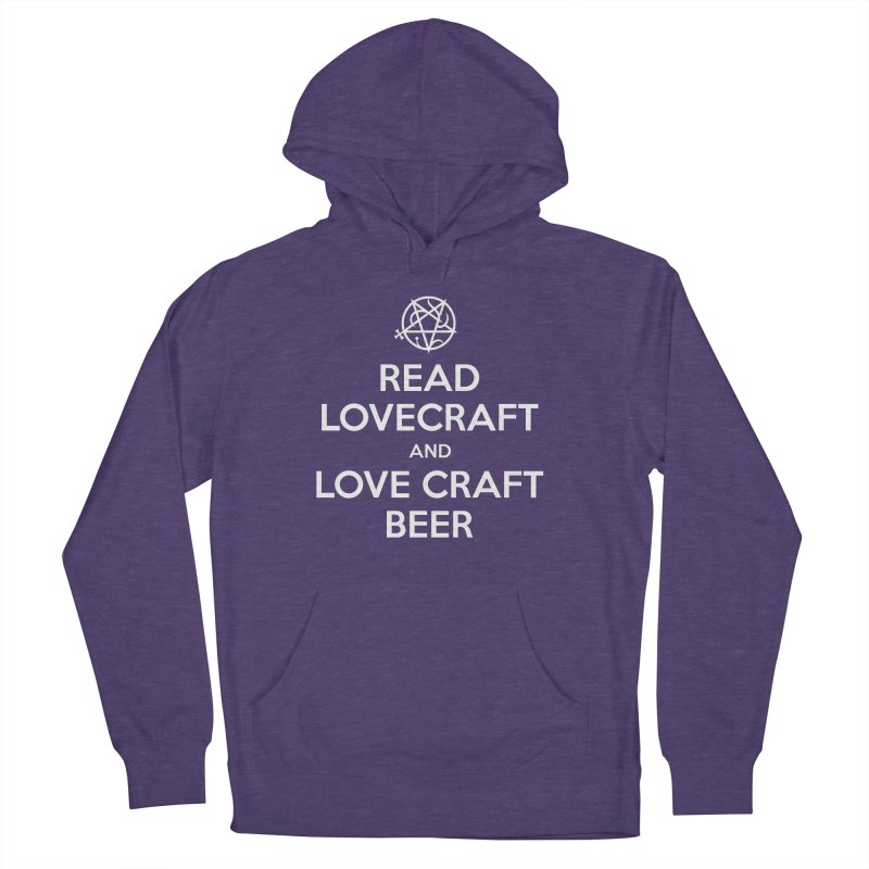 Lovecraftbeer Men's French Terry Pullover Hoody by ABELACLE