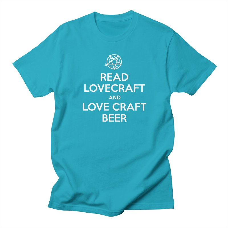 Lovecraftbeer Men's Regular T-Shirt by ABELACLE