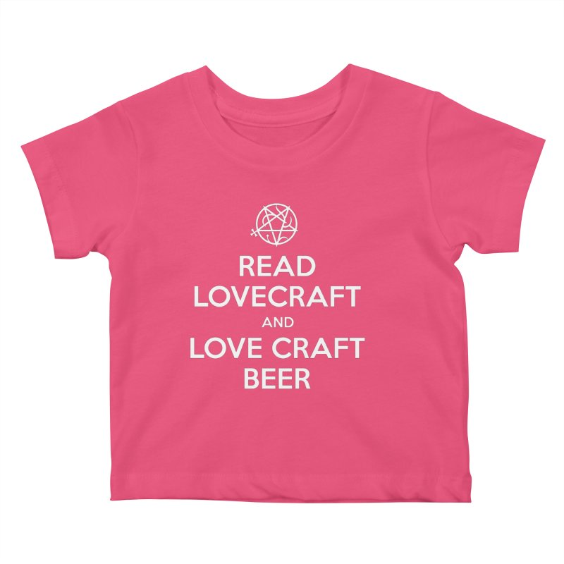 Lovecraftbeer Kids Baby T-Shirt by ABELACLE