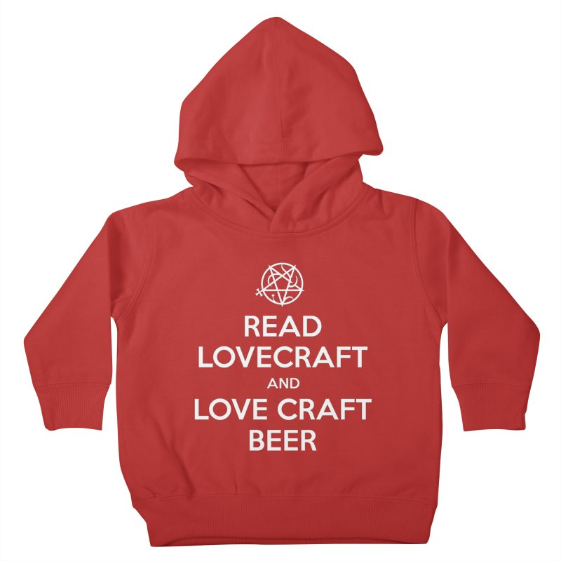 Lovecraftbeer Kids Toddler Pullover Hoody by ABELACLE
