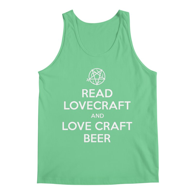 Lovecraftbeer Men's Regular Tank by ABELACLE