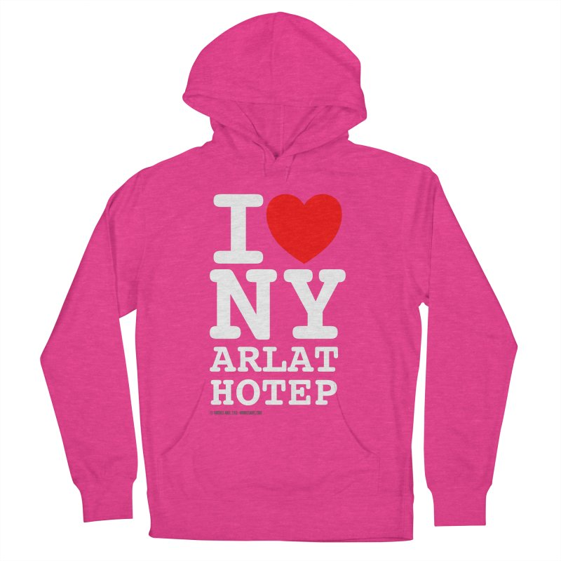 I Love Nyarlathotep Women's French Terry Pullover Hoody by ABELACLE