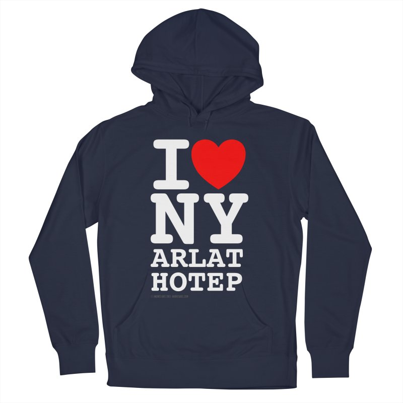 I Love Nyarlathotep Men's French Terry Pullover Hoody by ABELACLE