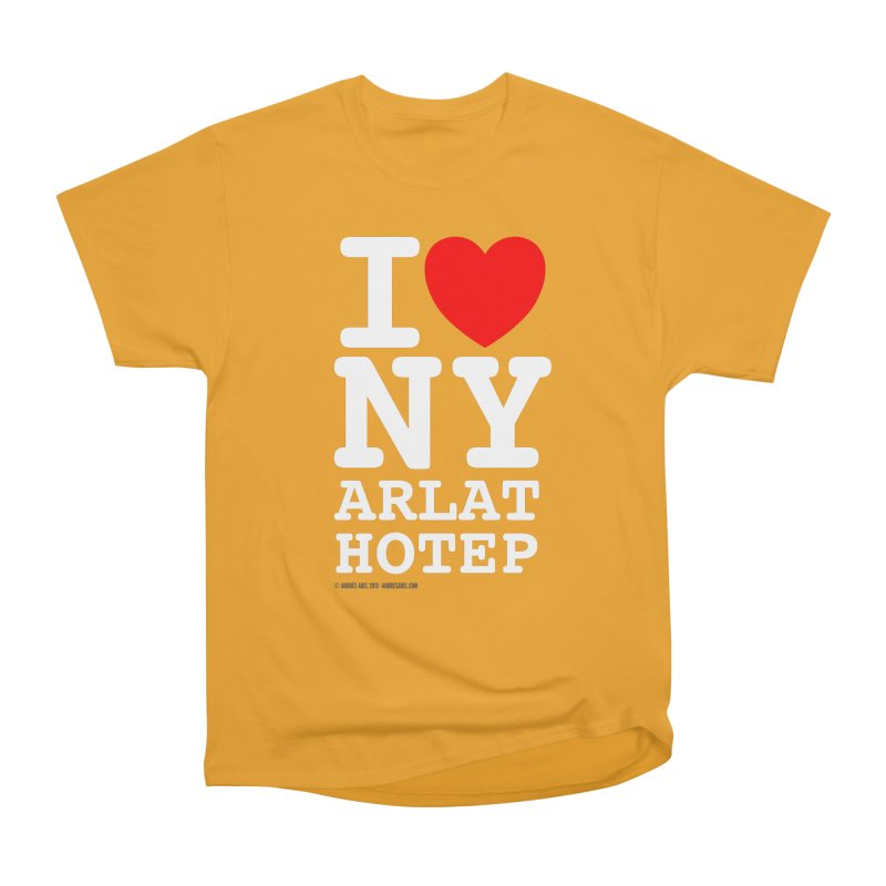 I Love Nyarlathotep Women's Heavyweight Unisex T-Shirt by ABELACLE