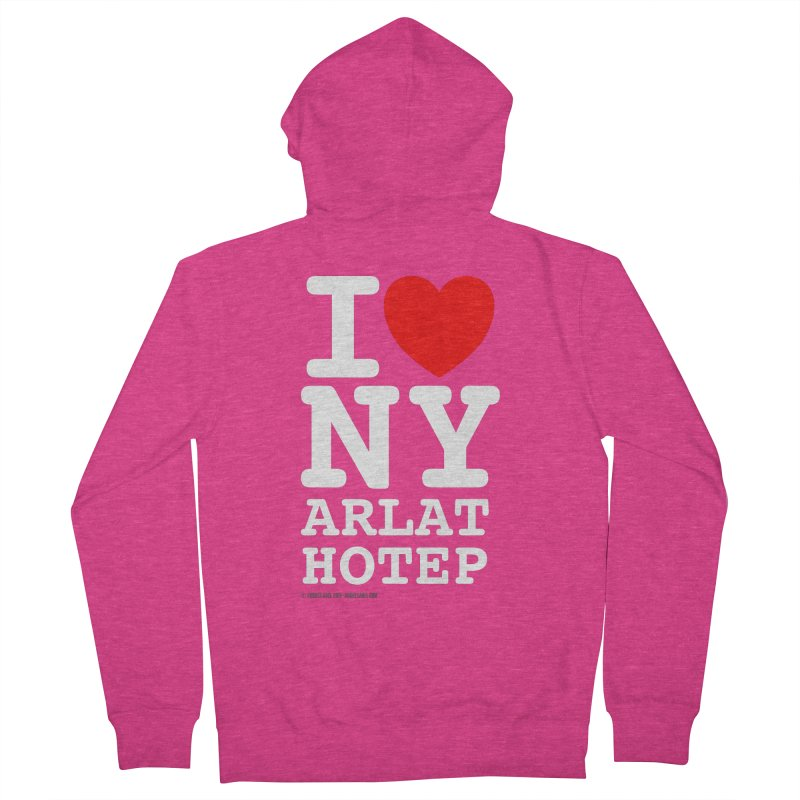 I Love Nyarlathotep Women's French Terry Zip-Up Hoody by ABELACLE