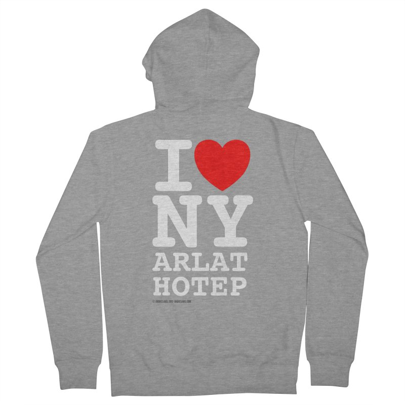 I Love Nyarlathotep Men's French Terry Zip-Up Hoody by ABELACLE