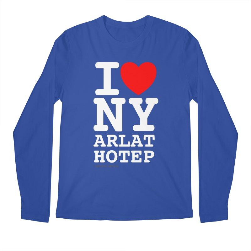 I Love Nyarlathotep Men's Regular Longsleeve T-Shirt by ABELACLE