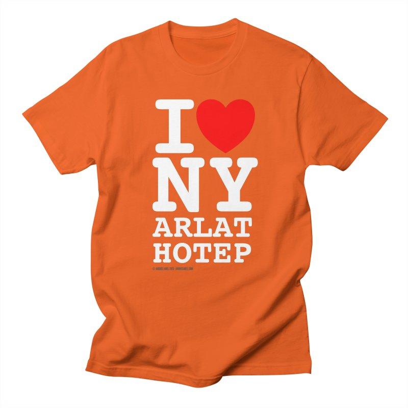 I Love Nyarlathotep Women's Regular Unisex T-Shirt by ABELACLE