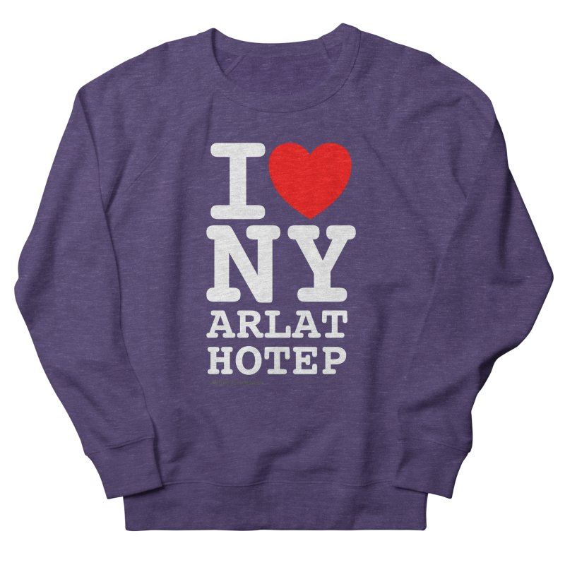 I Love Nyarlathotep Women's French Terry Sweatshirt by ABELACLE
