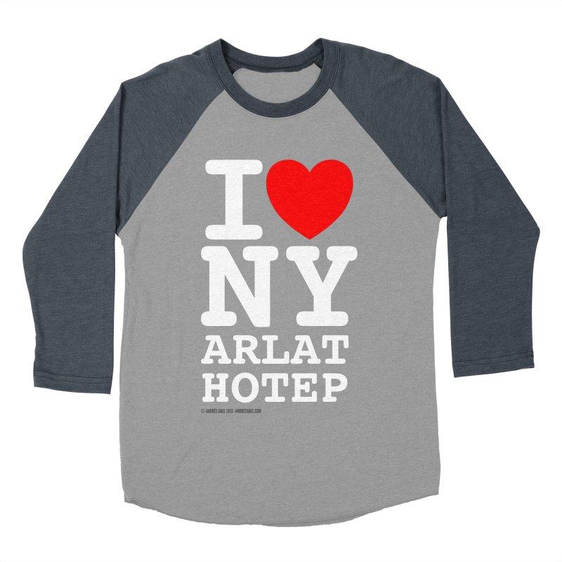 I Love Nyarlathotep Women's Baseball Triblend Longsleeve T-Shirt by ABELACLE