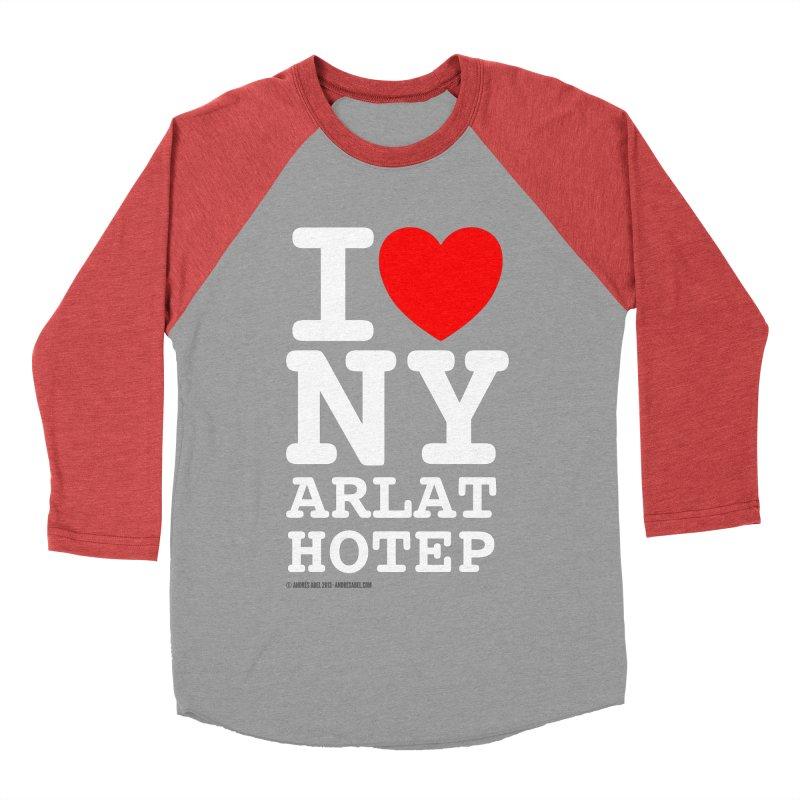 I Love Nyarlathotep Men's Baseball Triblend Longsleeve T-Shirt by ABELACLE