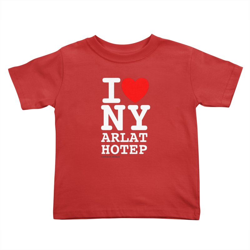 I Love Nyarlathotep Kids Toddler T-Shirt by ABELACLE