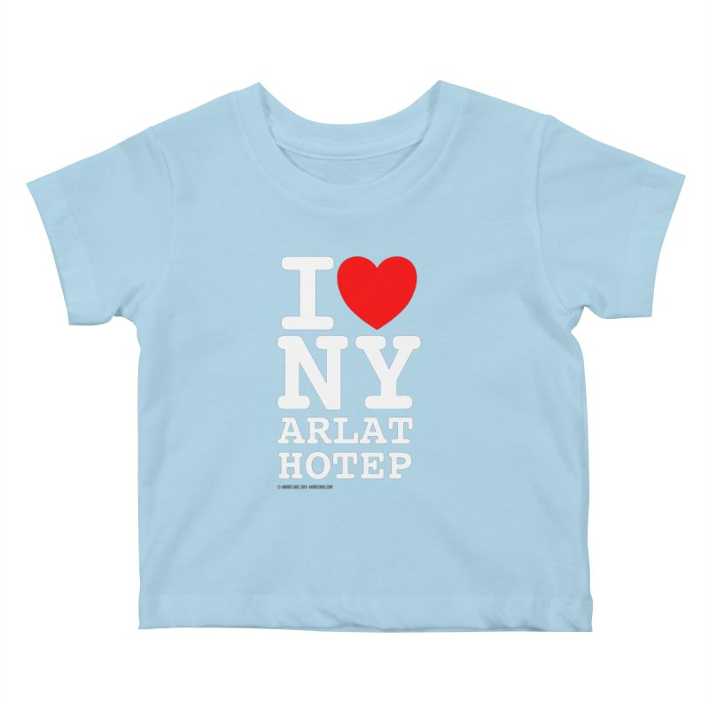 I Love Nyarlathotep Kids Baby T-Shirt by ABELACLE
