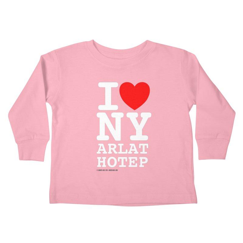 I Love Nyarlathotep Kids Toddler Longsleeve T-Shirt by ABELACLE