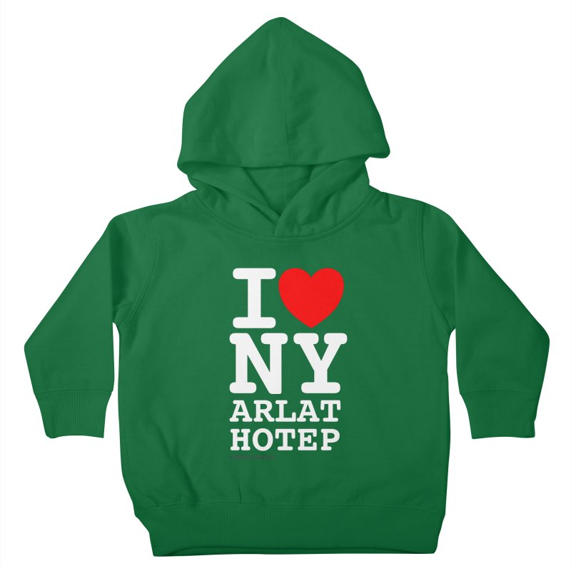 I Love Nyarlathotep Kids Toddler Pullover Hoody by ABELACLE