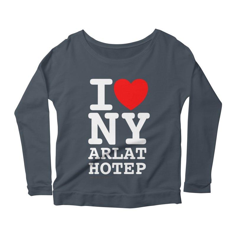 I Love Nyarlathotep Women's Scoop Neck Longsleeve T-Shirt by ABELACLE