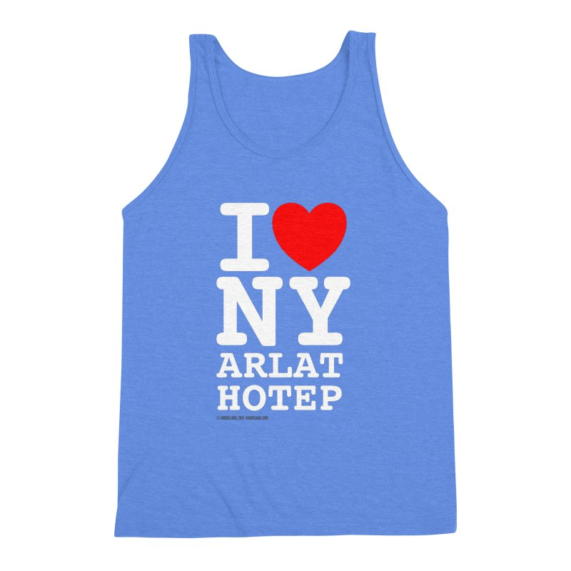 I Love Nyarlathotep Men's Triblend Tank by ABELACLE