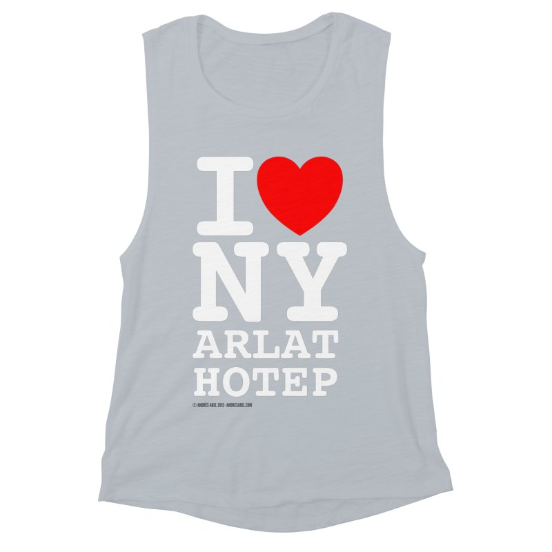 I Love Nyarlathotep Women's Muscle Tank by ABELACLE