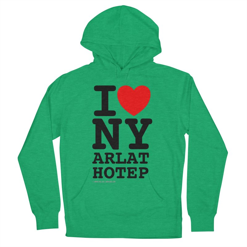 I Love Nyarlathotep (alt.) Women's French Terry Pullover Hoody by ABELACLE