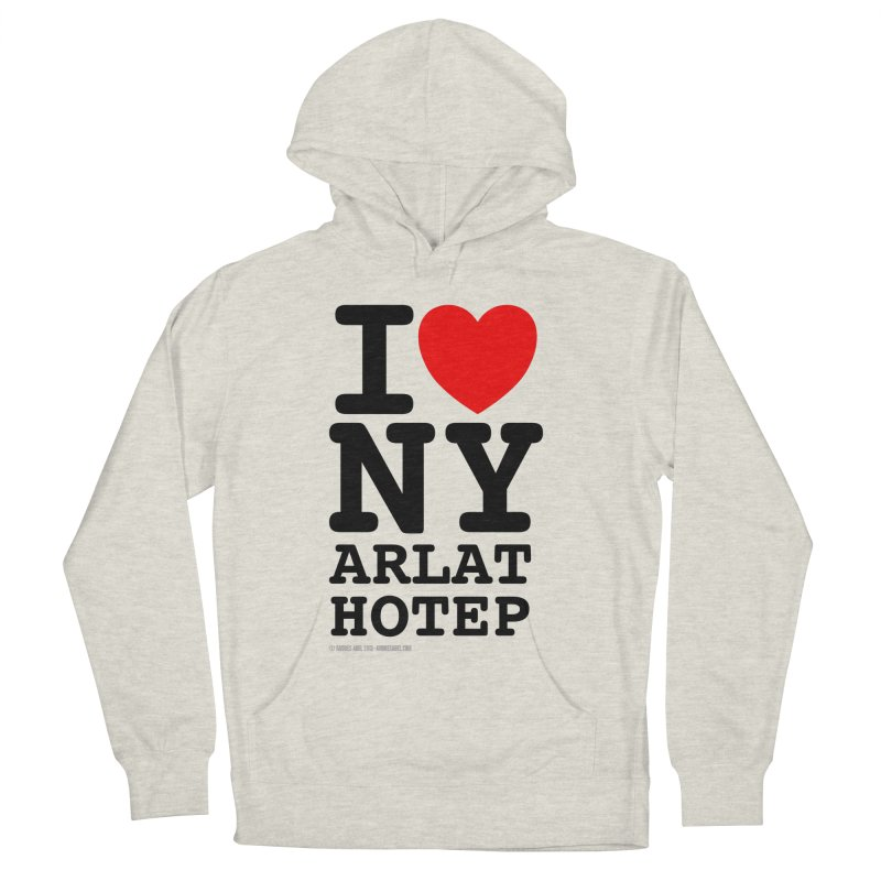 I Love Nyarlathotep (alt.) Men's French Terry Pullover Hoody by ABELACLE