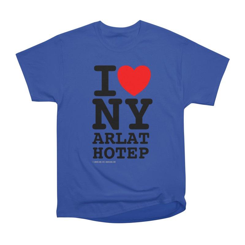 I Love Nyarlathotep (alt.) Men's Heavyweight T-Shirt by ABELACLE