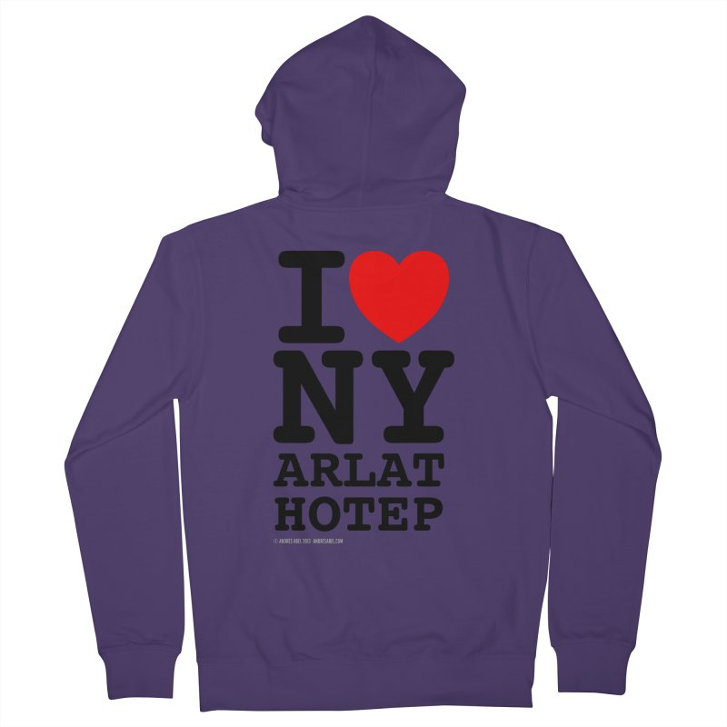 I Love Nyarlathotep (alt.) Women's French Terry Zip-Up Hoody by ABELACLE
