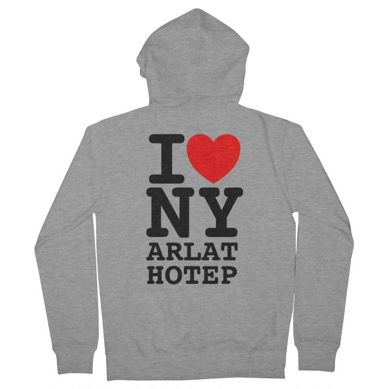 I Love Nyarlathotep (alt.) Men's French Terry Zip-Up Hoody by ABELACLE