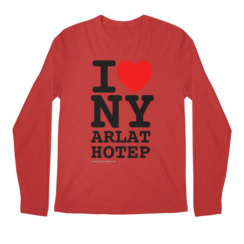 I Love Nyarlathotep (alt.) Men's Regular Longsleeve T-Shirt by ABELACLE