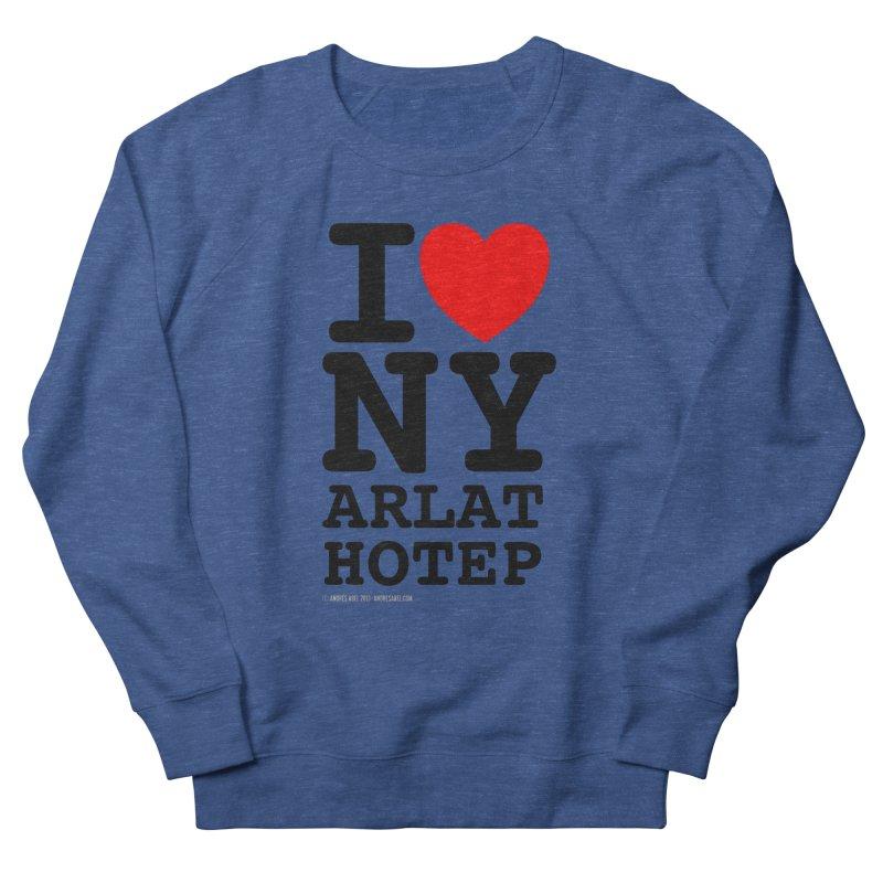 I Love Nyarlathotep (alt.) Women's French Terry Sweatshirt by ABELACLE