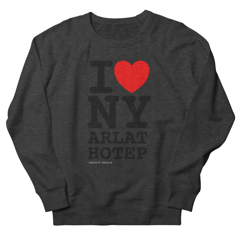 I Love Nyarlathotep (alt.) Men's French Terry Sweatshirt by ABELACLE