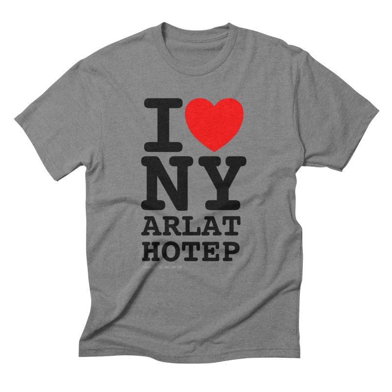 I Love Nyarlathotep (alt.) Men's Triblend T-Shirt by ABELACLE