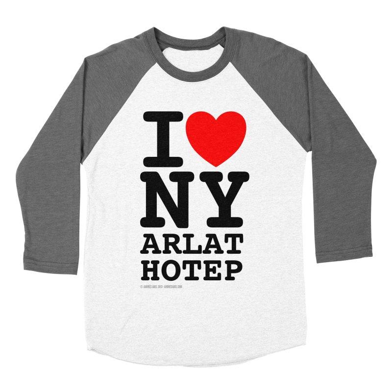 I Love Nyarlathotep (alt.) Women's Baseball Triblend Longsleeve T-Shirt by ABELACLE