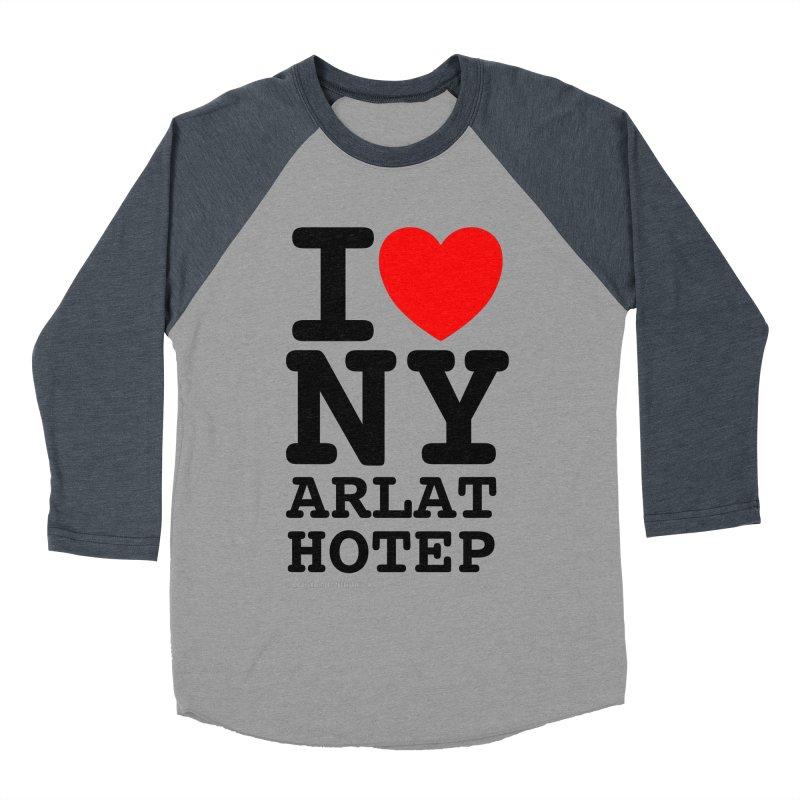 I Love Nyarlathotep (alt.) Men's Baseball Triblend Longsleeve T-Shirt by ABELACLE