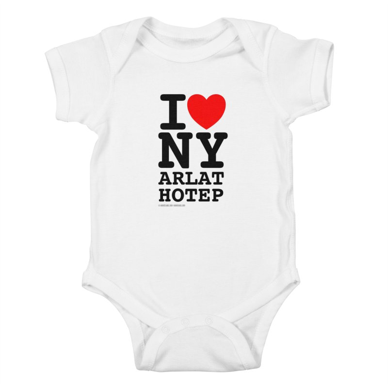 I Love Nyarlathotep (alt.) Kids Baby Bodysuit by ABELACLE