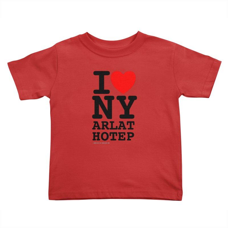 I Love Nyarlathotep (alt.) Kids Toddler T-Shirt by ABELACLE