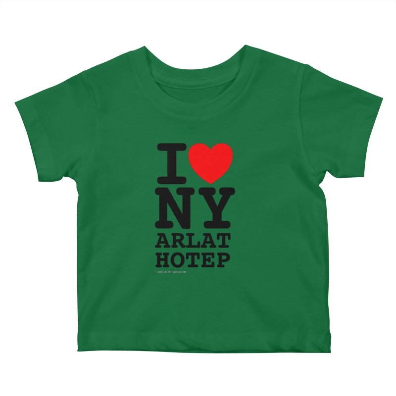 I Love Nyarlathotep (alt.) Kids Baby T-Shirt by ABELACLE