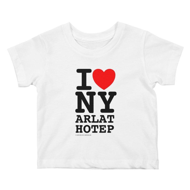 I Love Nyarlathotep (alt.) Kids Baby T-Shirt by ABELACLE
