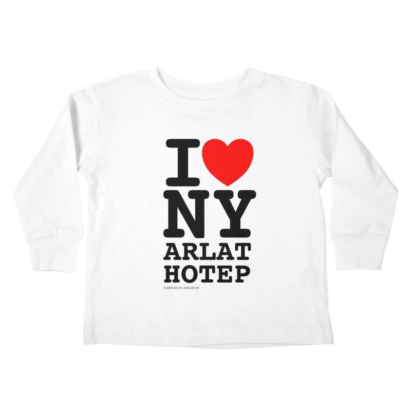 I Love Nyarlathotep (alt.) Kids Toddler Longsleeve T-Shirt by ABELACLE