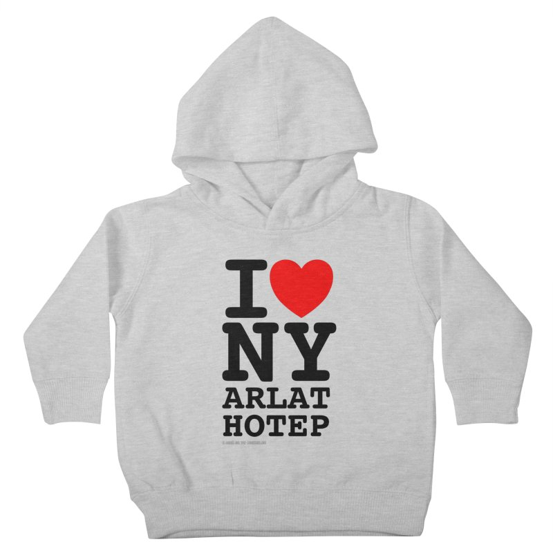 I Love Nyarlathotep (alt.) Kids Toddler Pullover Hoody by ABELACLE