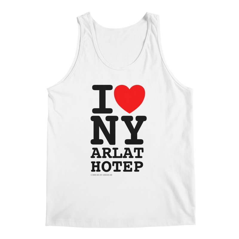 I Love Nyarlathotep (alt.) Men's Regular Tank by ABELACLE